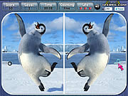 Happy feet spot the difference pingvines j�t�kok