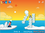 Shoot the penguin 2 pingvines j�t�kok